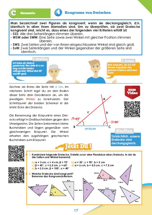 Mathe-Übungsheft für die Klasse 7 Sek I | StrandMathe